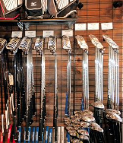 Large Selection of Golf Clubs