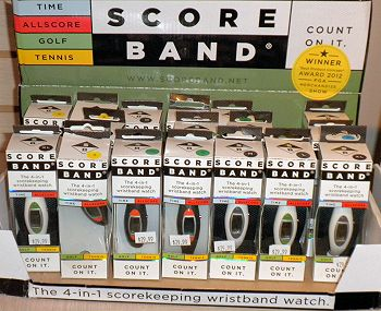 Score Band - The 4-in-1 scorekeeping wristband watch