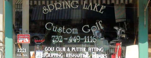 Spring Lake Custom Golf Logo